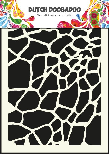 470.715.003 Dutch Doobadoo Mask Art Giraffe Formaat A5