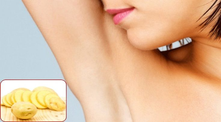 Potato to Get Rid Of Dark Underarms