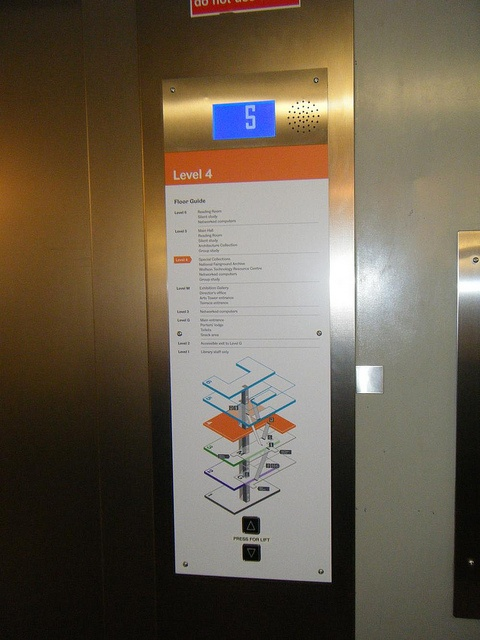 floor directory lift2 by Opening the Book, via Flickr