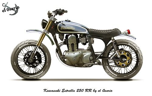 Kawasaki Estrella 250 RR