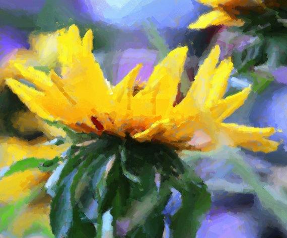 Sunflower by MaggiesStudio on Etsy, $18.00