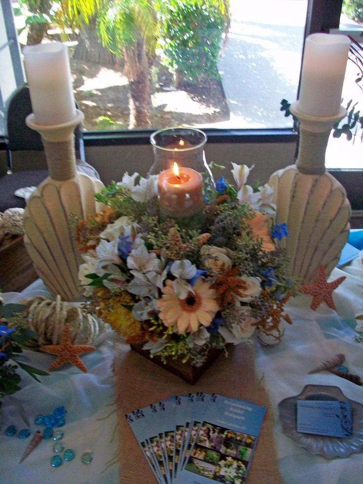 38 best seaside beach nautical wedding flowers images on styles themes seaside beachcandle centerpiecesorange weddingsnautical weddingwooden boxesbloompeachwedding junglespirit Image collections