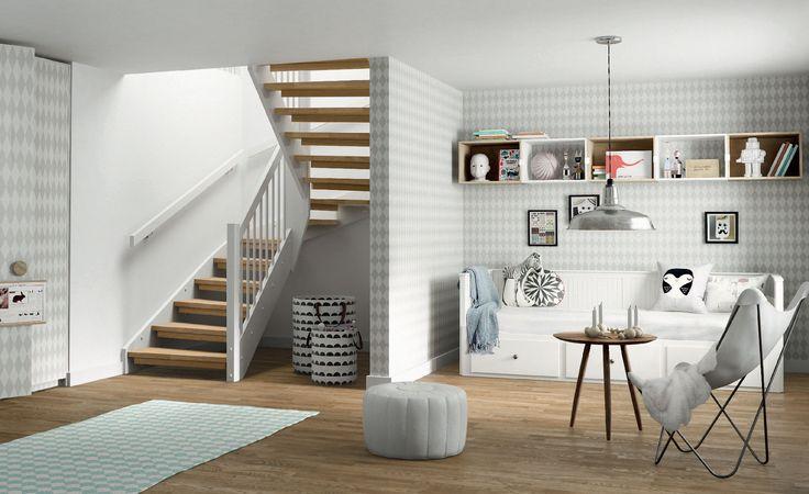 stryntrappa.no, stairways, interior design, decoration
