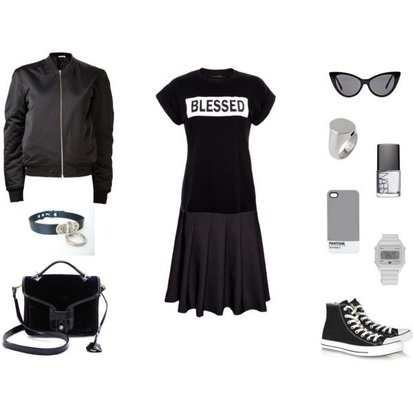 """""""Color Block"""" by black-blessed on Polyvore"""