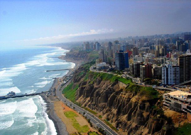 The places I love from my country// La Costa Verde, Lima, Peru