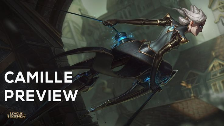Camille Ability Reveals and Gameplay- The Steel Shadow | New Champion https://www.youtube.com/watch?v=nOrt9AYCYqE #games #LeagueOfLegends #esports #lol #riot #Worlds #gaming