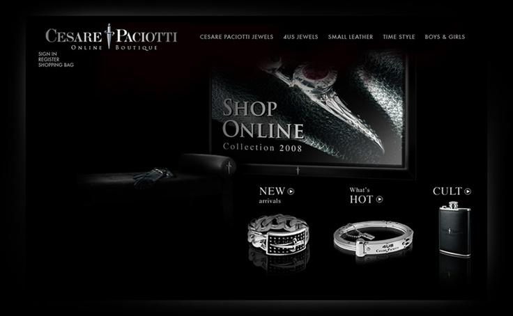 Jewelry Design from marche - Cesare Paciotti - Canenero Advertising