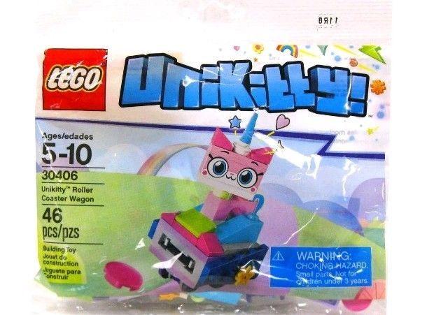 46 Pieces Unikitty Roller Coaster Wagon New Lego 30406 Polybag