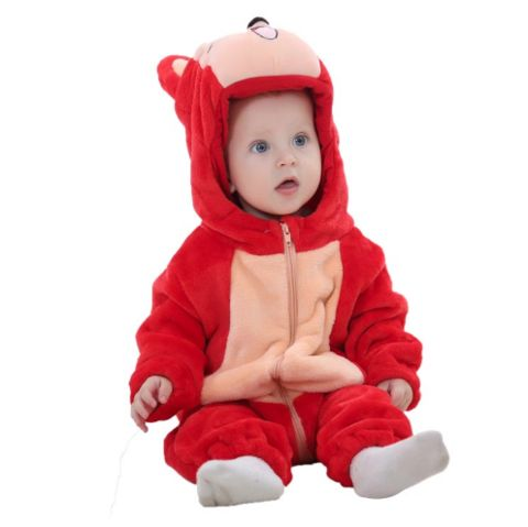 Red Fox Jumpsuit Baby Rompers **FREE+SHIPPING**