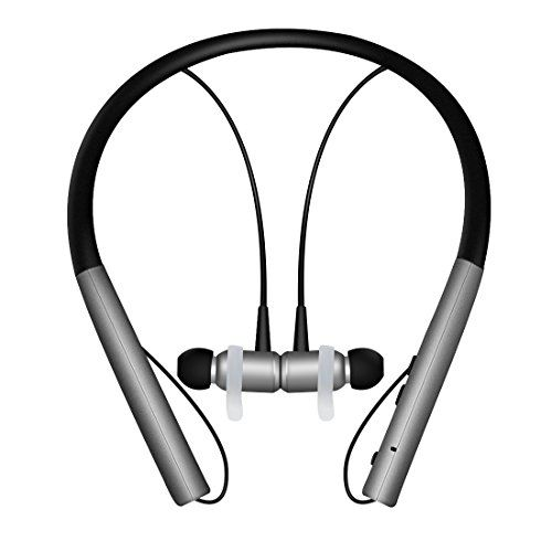 Kimitech Bluetooth 4.1 Neckband Headphone, Wireless Headsets Magnetic Stereo Noise Cancelling Earbuds Earphones with Mic (Black ) - Black1  https://topcellulardeals.com/product/kimitech-bluetooth-4-1-neckband-headphone-wireless-headsets-magnetic-stereo-noise-cancelling-earbuds-earphones-with-mic-black/?attribute_pa_color=black1  CONVENIENT MAGNET EARBUDS: The earplugs can attracts each other when you don't used it, greatly decreasing the burden on ears UPGRADED BATTERY