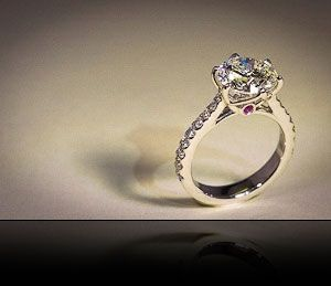 diamond engagement ring, diamond ring