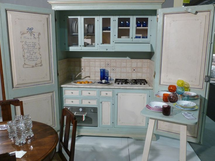 1000 idee su mini cucina su pinterest cucina compatta - Cucine armadio prezzi ...