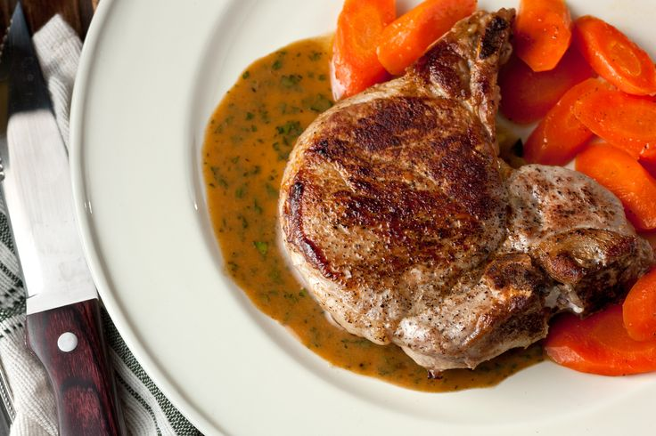 Most baked pork chop recipes have a reputation for being dry, tough, and flavorless, but this cooking method ensures a brown crust and a juicy center.
