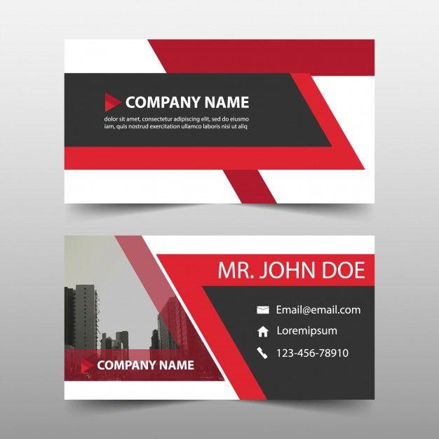 formatos de tarjetas de presentacion