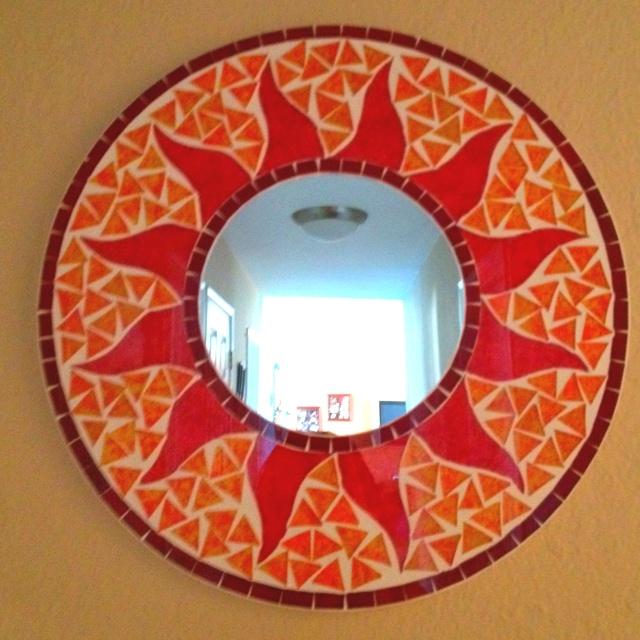 Mosaic sun mirror
