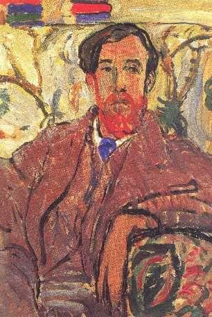Lytton Strachey by Vanessa Bell (1912)