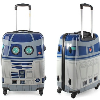 """R2D2 Suitcase. I would fear my luggage would get """"lost"""""""