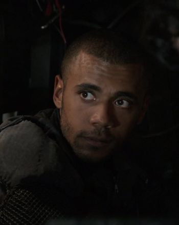 "Jarod Joseph as Nathan Miller in ""The 100"""
