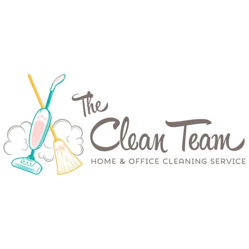 cleaning logo customized with your business name