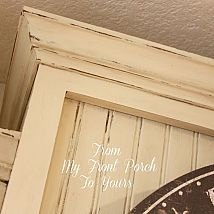Hometalk :: We are in the midst of a mini kitchen DIY reno. Hubby finally caved an…