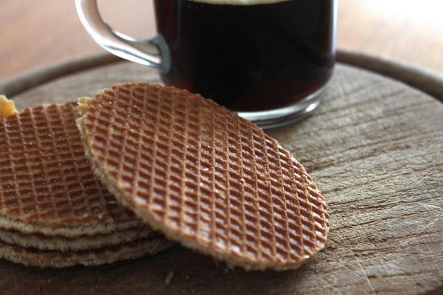Dutch Stroopwaffles- I would fly to Amsterdam just to get some!
