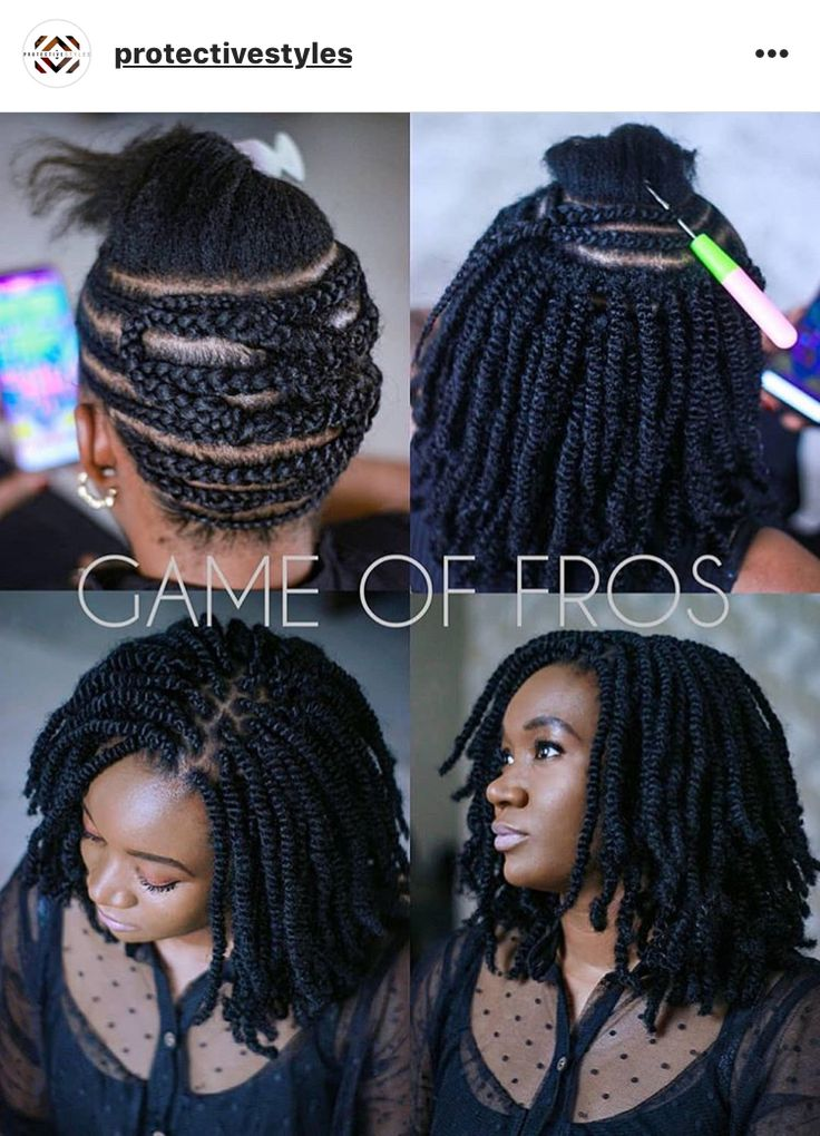 Protective Styles Transitioning Hairstyles Crochet