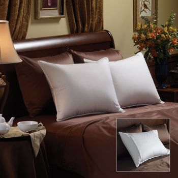 $45 Pacific Coast Luxury White Goose Down Pillow Soft Support