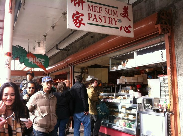 Asian pastry seattle market bow