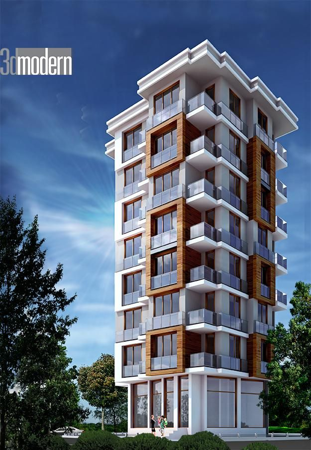 Dış Cephe Tasarım Çalışmamız./İstanbul #architecture #3dmodeling #cephetasarımı