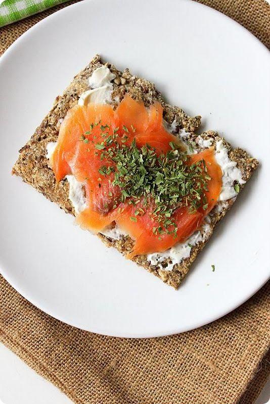 Smoked Salmon Crispbread | 23 On-The-Go Breakfasts That Are Actually Good For You