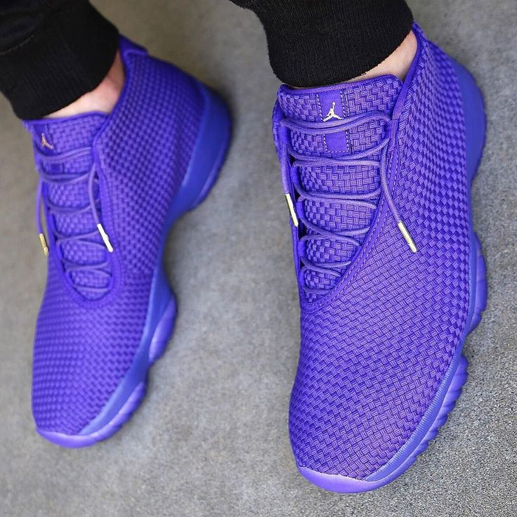 new product 2ec31 50e86 ... Bright purple Jordans are sick!