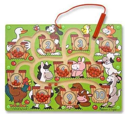 Melissa-&-doug Melissa & Doug Magnetic Number Maze | Buy Online in South Africa | TAKEALOT.com