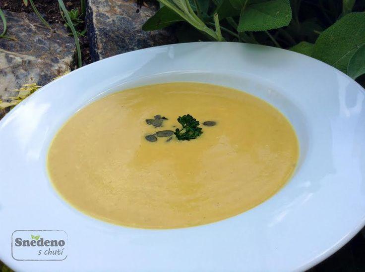 Krémová polévka z máslové dýně