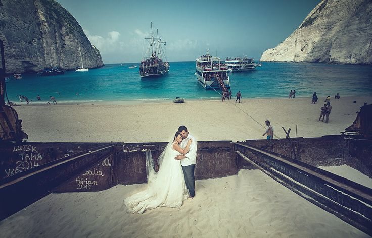 Wedding in Zakynthos / Shipwreck Cove