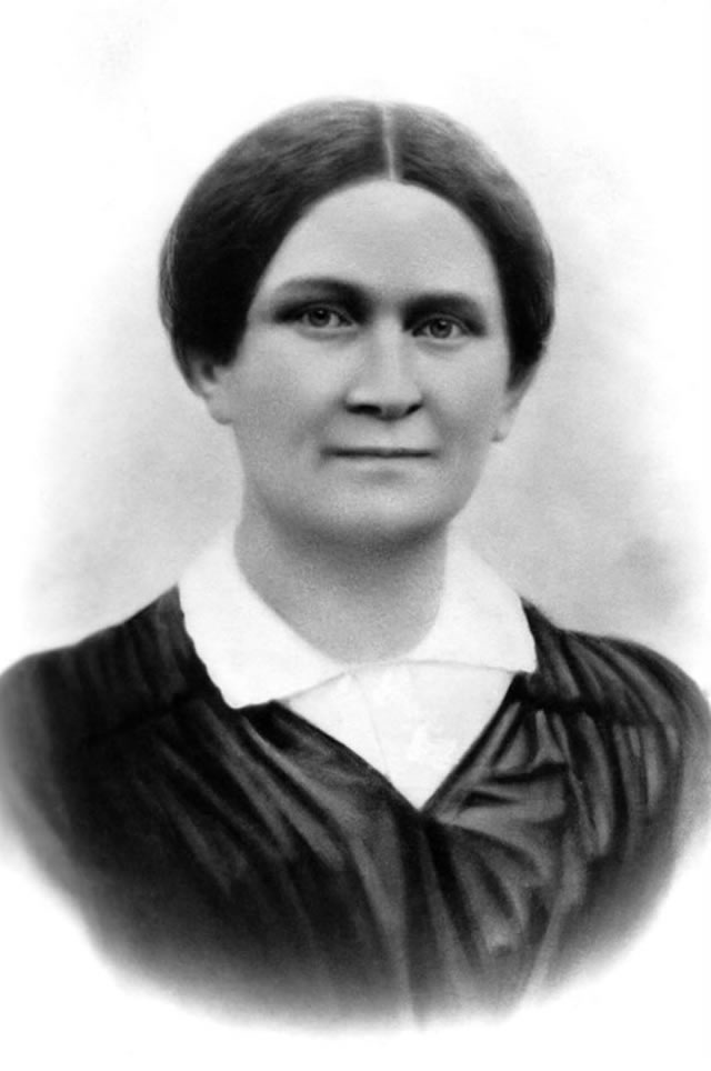 Fredrika Runeberg (1807–1879), one of first woman authors in Finland and wife of…