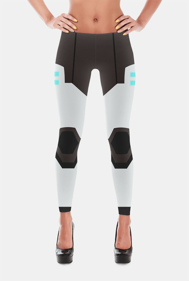 Shiro / Black Paladin Leggings from Voltron Legendary Defender by Geekilicious