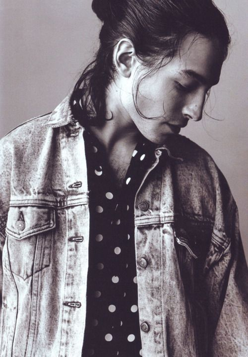 Ezra Miller photographed by Alasdair McLellan for i-D Summer 2015