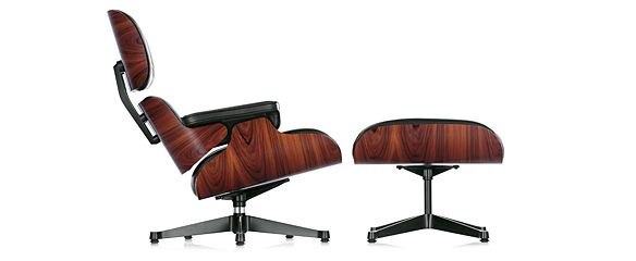The classic of all classics ;)  -- Eames Lounge Chair & Ottoman