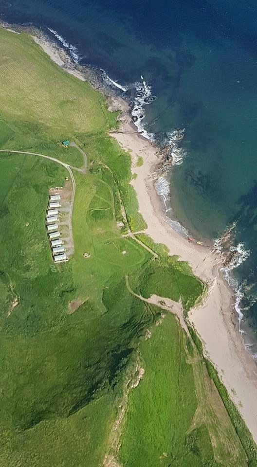 Pennyseorach Static Caravans, Southend, Argyll, Scotland. Camping. Campsite. Coast. Beach. Sea. Family. Dog Friendly.