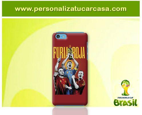www.personalizatucarcasa.com El jueves empieza el mundial de Brasil y nuestros usuarios ya están haciendo carcasas con imágenes muy futboleras. Nos ha encantado esta para iPhone 5c. Y tu? Ya tienes la tuya?