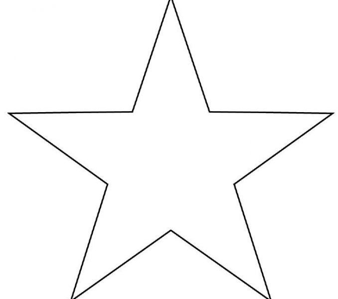 Printable Star Images Star Template Printable Star Star