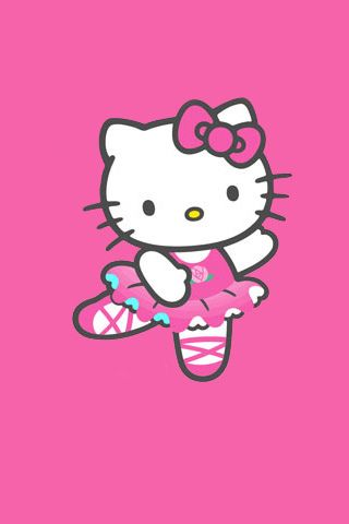 Hello kitty iphone hello kitty iphone wallpaper flickr photo sharing hello kitty - Ballerine hello kitty ...