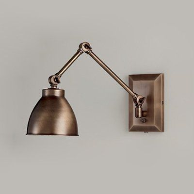 Master wall sconce shown in pewter bronze available