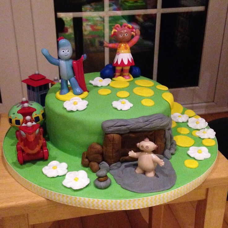 In the Night Garden 2nd birthday cake