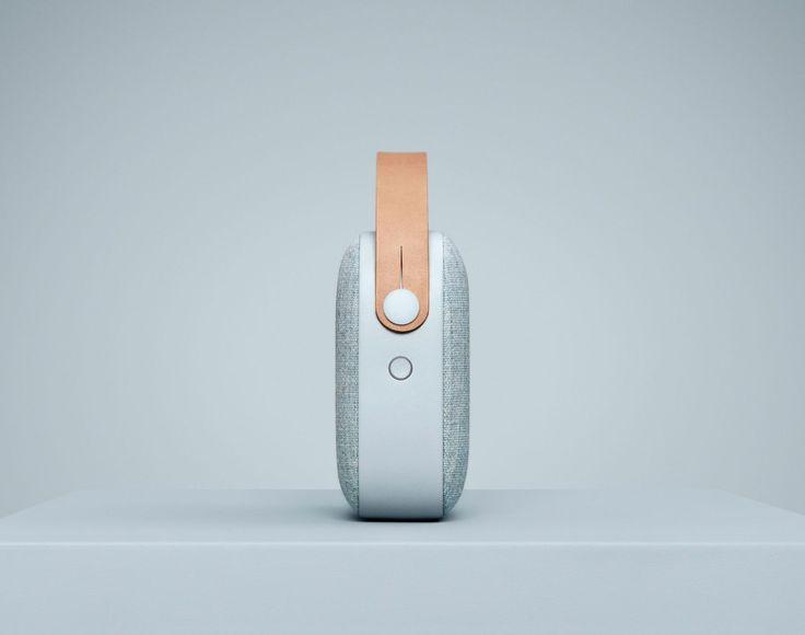 Bluetooth reproduktor Vifa Helsinki, Misty Blue   DesignVille