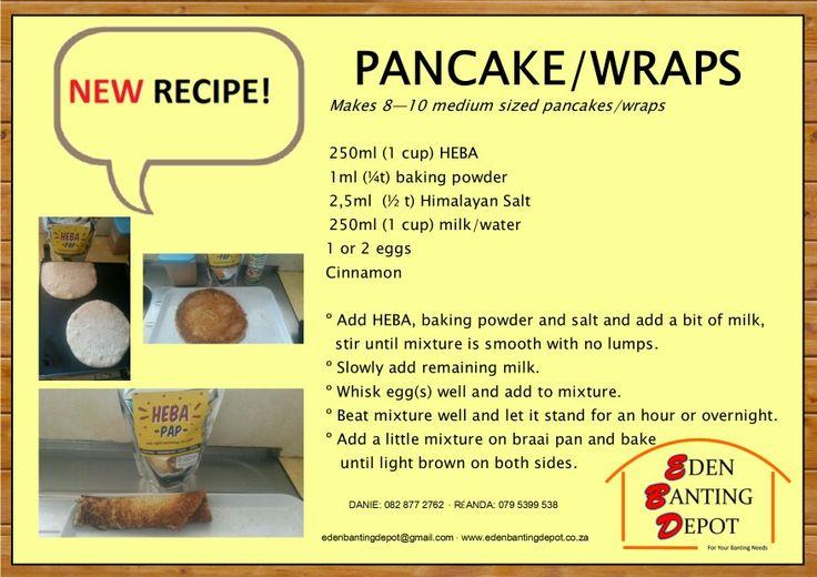 61p.. pancake wraps