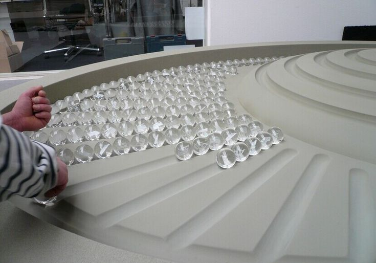Rolling Ball Sculptures / Kugelbahnen 2012