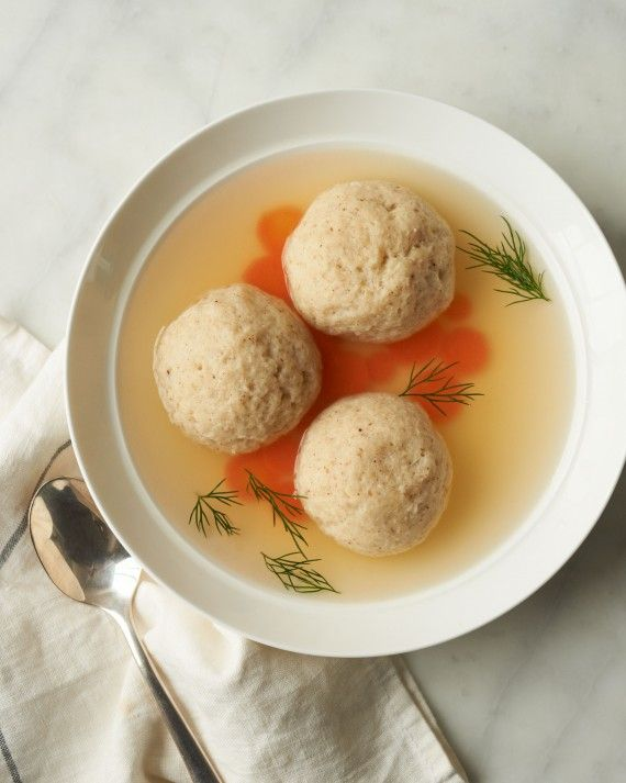 If you've kept kosher for Passover, you know eight days is a long time to live without cookies and pizza -- to say nothing of daily bread. Whether you're observing the holiday or just looking to try something new, don't miss these tasty recipes. Every Bubbe's got a version of this iconic Jewish soup. Ours, made with homemade chicken stock and fresh dill, might give Grandma's a run for her money. You can even make your own matzo meal at home.