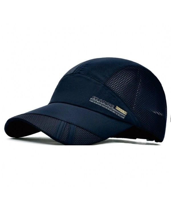 Quick Dry Sports Hat Lightweight Breathable Soft Outdoor Running Cap Navy C212hh893wz Running Cap Sport Hat Outdoor Running