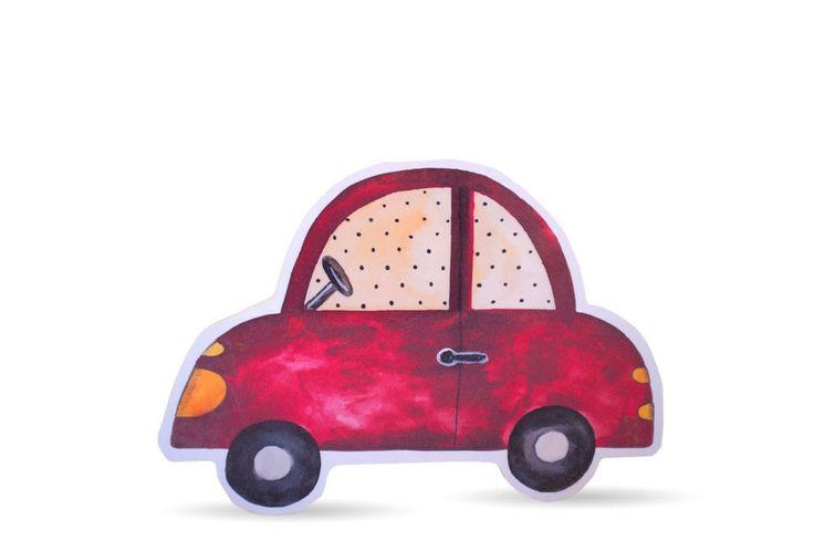 Auto als Bild, Aufsteller oder Kleiderhaken - Kinderzimmerdekoration – Fräulein Gelb